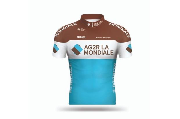 AG2R La Mondiale jersey
