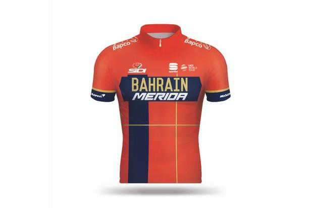 Bahrain-Merida jersey