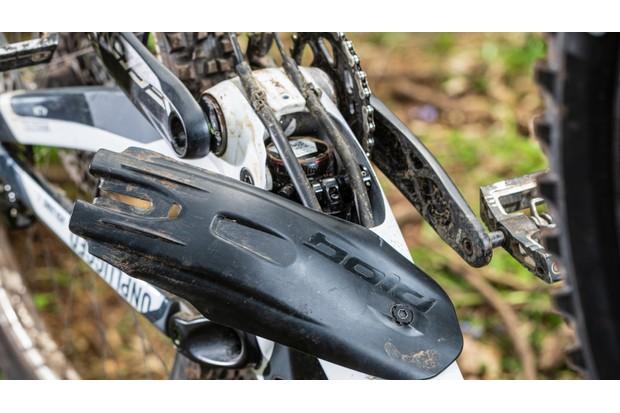 Bold Unplugged mountain bike down tube protector