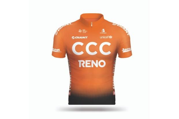 CCC Team jersey