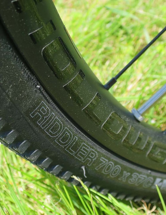 wtb tyre on road bike