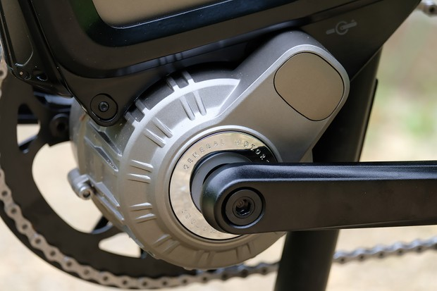 General Motors' electric bike motor from Ariv Merge electric bike