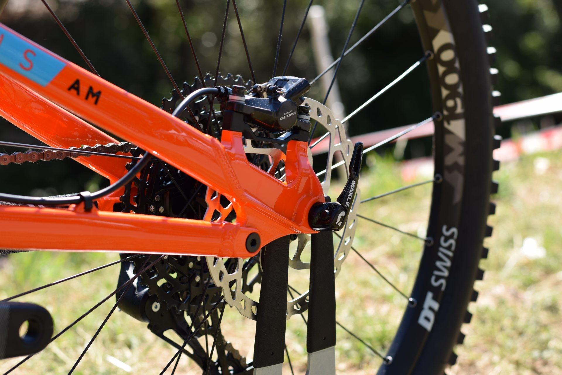 Shimano Deore rear brake