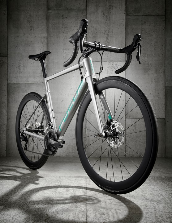 grey road bike