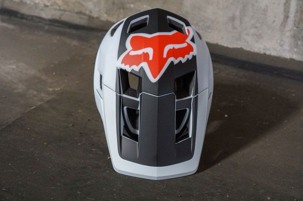 Fox DropFrame open face helmet front