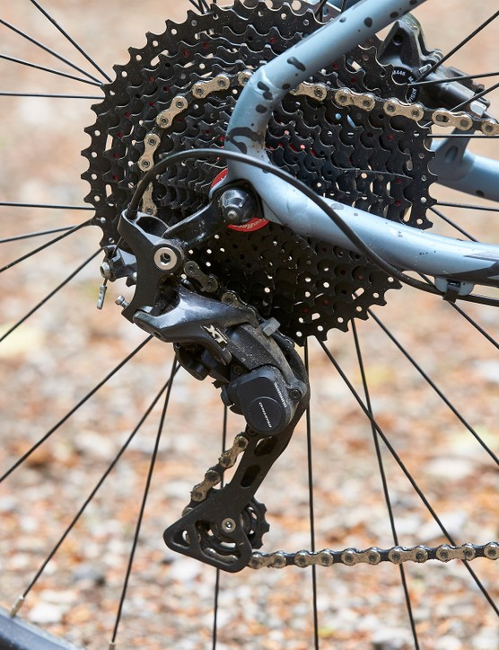 XT mech on GT Zaskar Alloy Comp hardtail mountain bike
