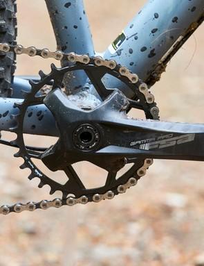 chainring on GT Zaskar Alloy Comp hardtail mountain bike