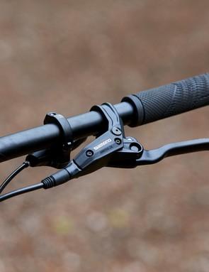 brake lever on GT Zaskar Alloy Comp hardtail mountain bike