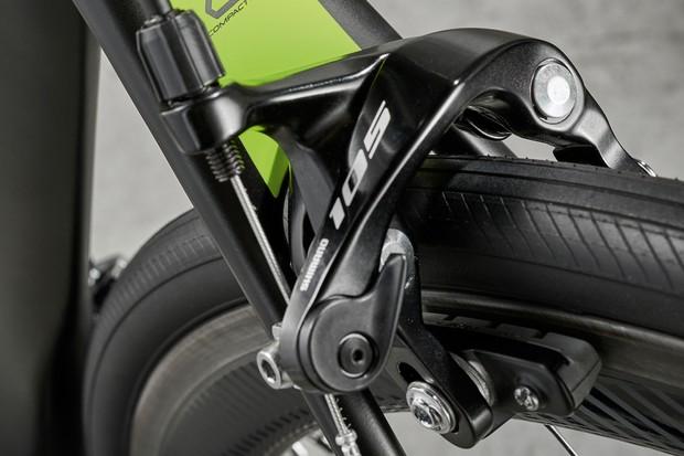 Giant TCR Advanced Pro 2 rim brakes