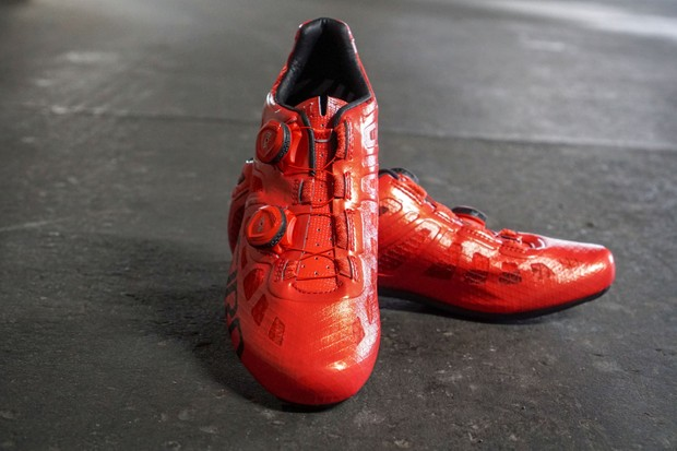 Giro Imperial red shoes