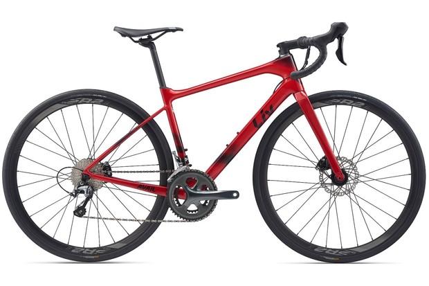Liv Avail Advanced 3 Metallic Red