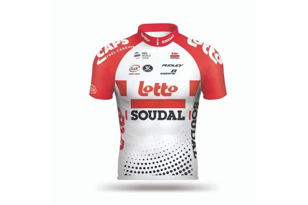 Lotto Soudal jersey