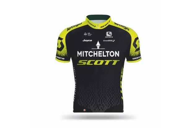 Mitchelton-Scott jersey