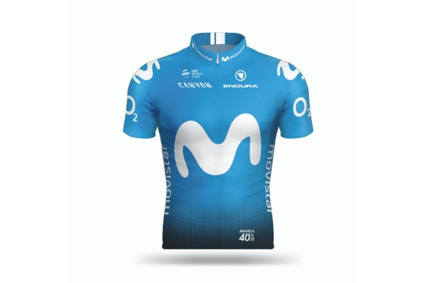 Movistar Team jersey