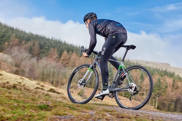 Cyclist riding Pearson All Mod Cons
