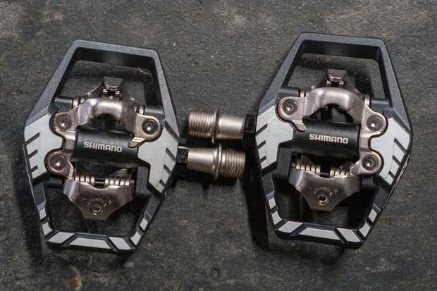 Shimano XT M8120 pedals