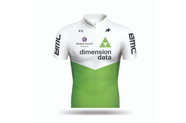 Team Dimension Data jersey