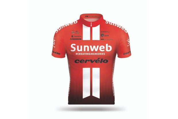 Team Sunweb jersey