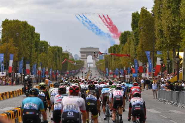 Tour de France 2018 Paris Champs-Elysees finish