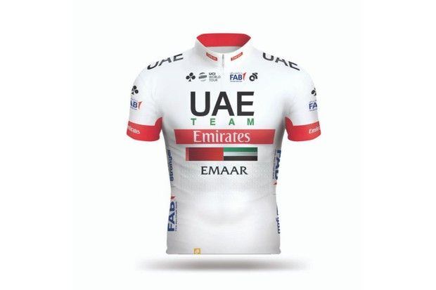 UAE Team Emirates jersey