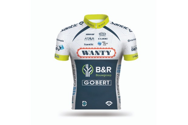 Wanty-Groupe Gobert jersey