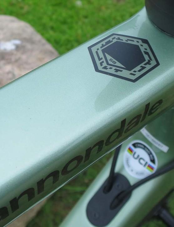road bike in agave - mint green