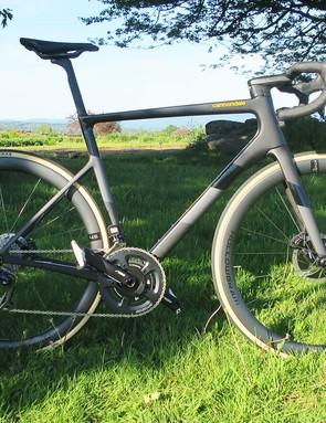 matt black road bike