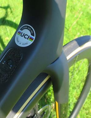 UCI approved road bike