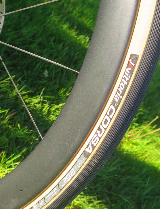 tyres on a road bike