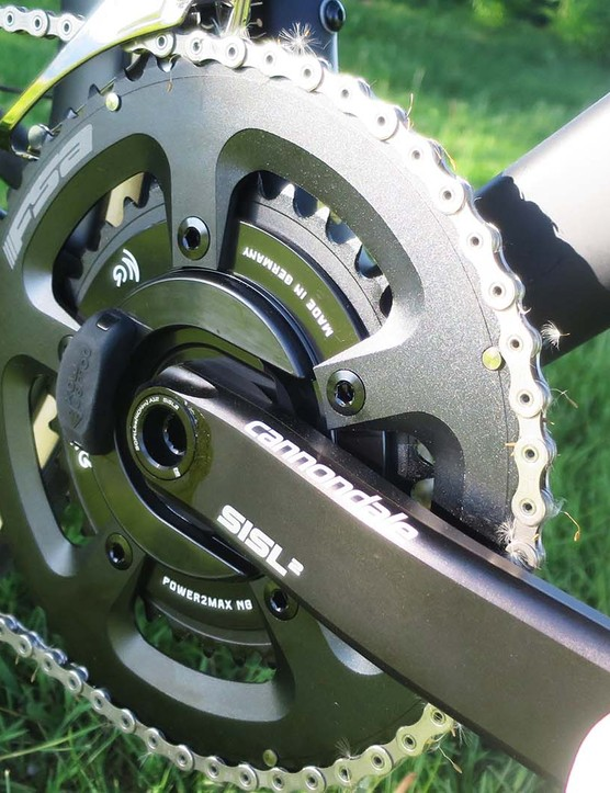 chainset on road bike
