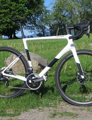 white road bike