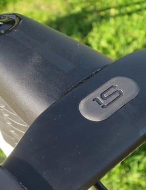 stem and bar on road bike