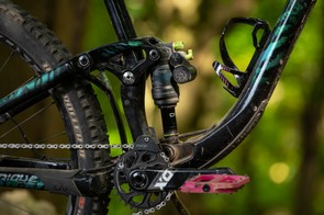 Every size of the bike including the very small sizes, can fit a bottle cage in the frame