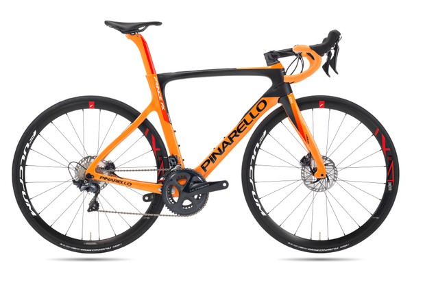 Pinarello disc-equipped road bike