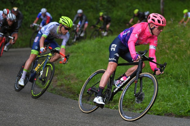 Simon Clarke in action at the Criterium du Dauphine 2019
