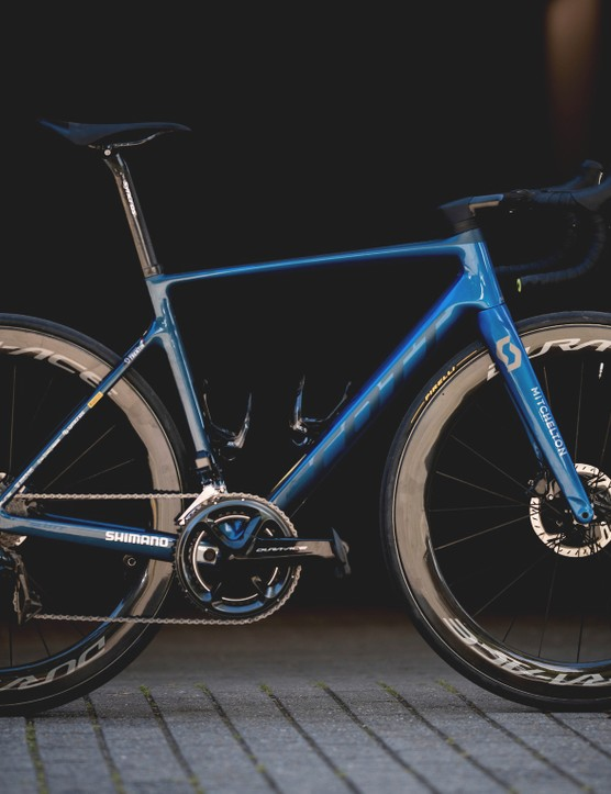 Matteo Trentin's 2020 Scott Addict RC pro bike for 2019 Tour de France