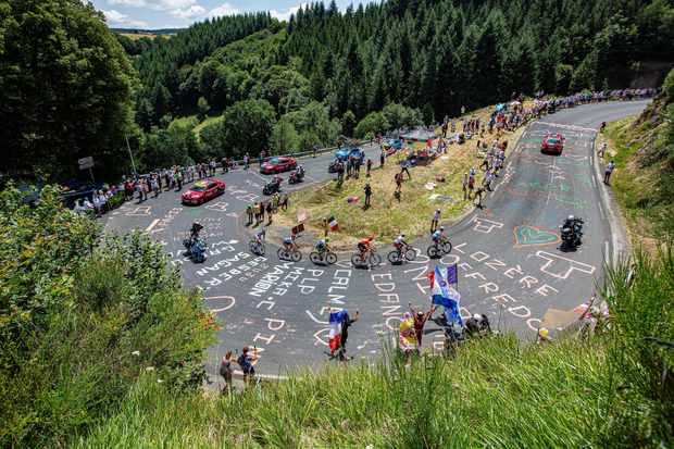 Tour de France 2019, hairpin road
