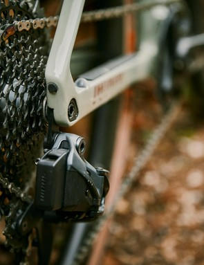 SRAM Red eTap AXS shifters, chainset and rear derailleur