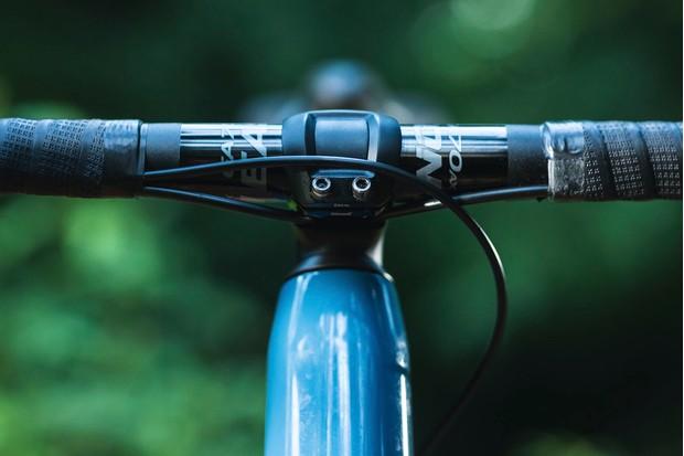 ICS stem on gravel road bike