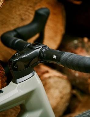 stem on bmc urs one gravel road bike