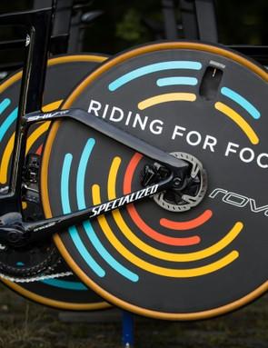 Kasper Asgreen's Specialized S-Works Shiv TT for 2019 Tour de France