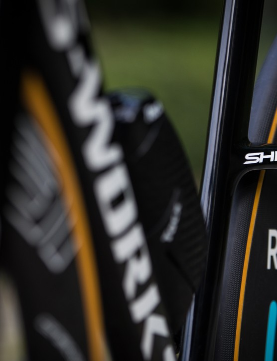 Kasper Asgreen's Specialized S-Works Shiv TT for 2019 Tour de France