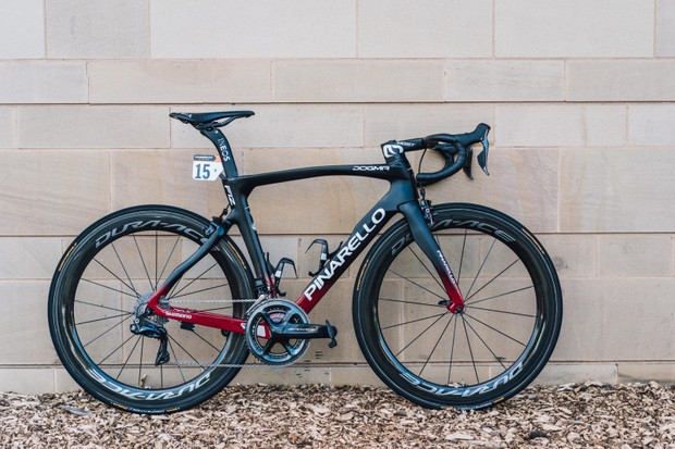 The F12 is the latest evolution of the Tour-winning Dogma