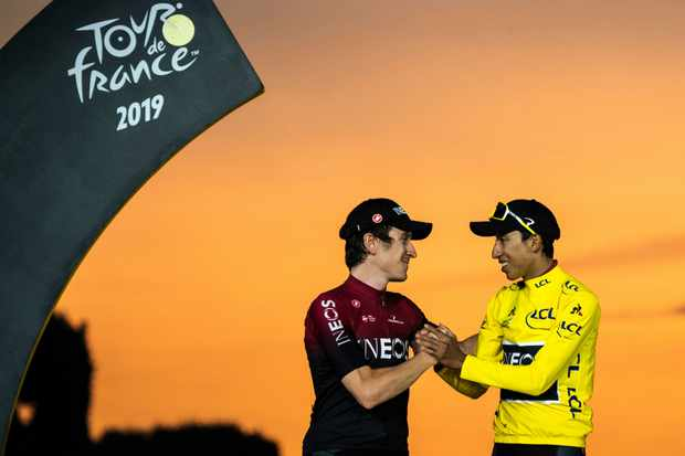 Tour de France 2019, Geraint Thomas and Egan Bernal