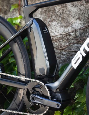 Shimano's Steps E-8000 250W motor on road e-bike