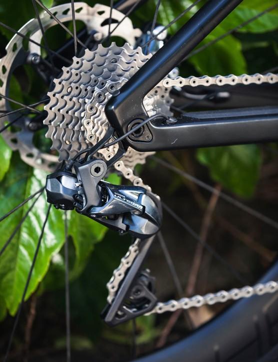 gears on road e-bike