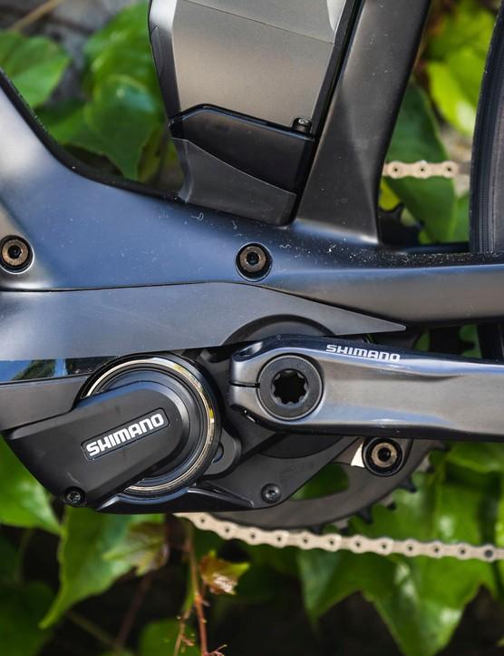 motor on road e-bike