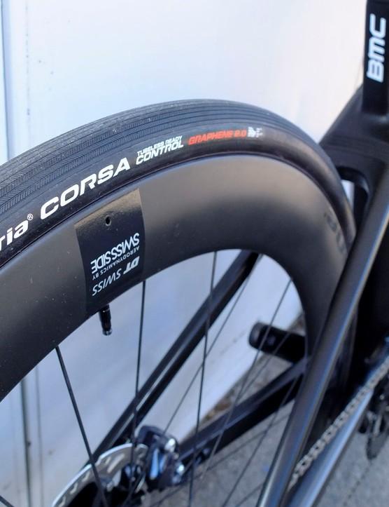 Vittoria Corsa Control G+ tyre on Road e-bike