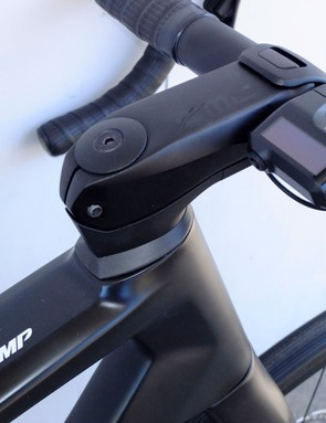 Shimano's Di2 display module for road e-bike