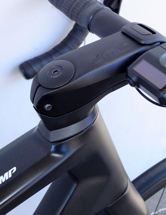 Shimano's Di2 display module for road e-bike